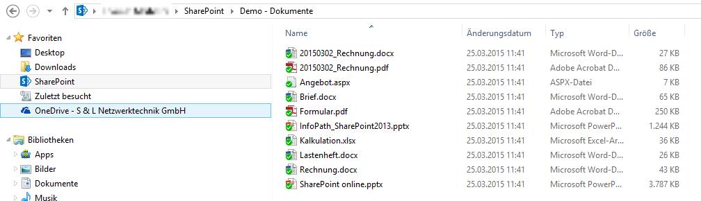 Abbildung 2: Verzeichnis im Windows Explorer