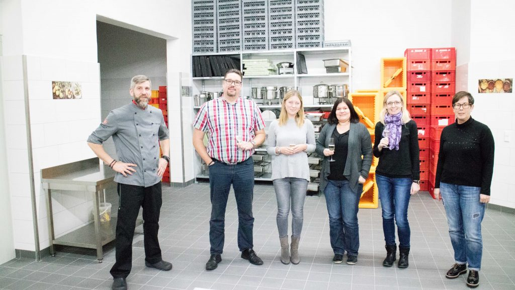 TeilnehmerInnen: Oliver Schmitt, Daria Spilev, Michaela Schmitt, Nadine Meditz, Claudia Böddener, (Götz Schmitt)