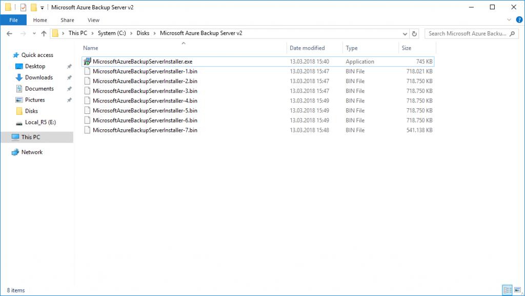 Microsoft Azure Backup Server Download
