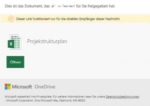 Microsoft Office 365 One Drive