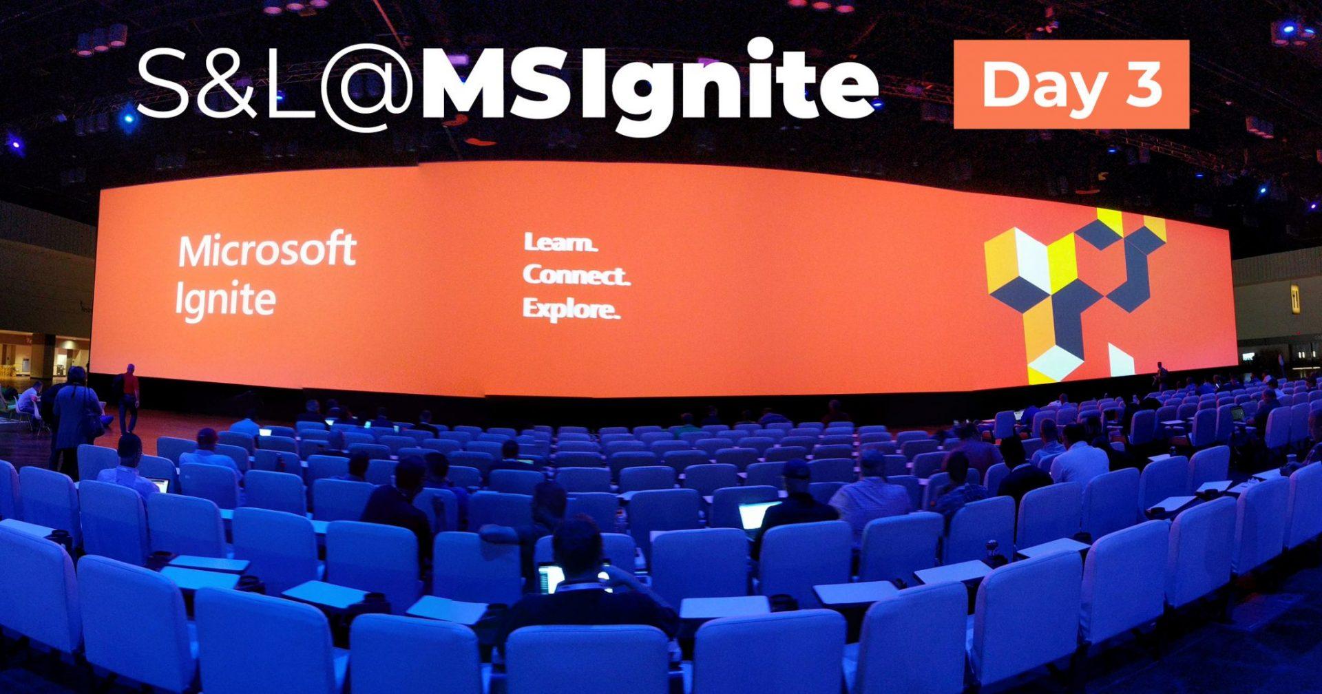 Microsoft Ignite 2018 News – Tag 3