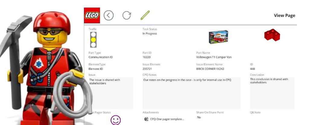 LEGO Reklamationsmanagement