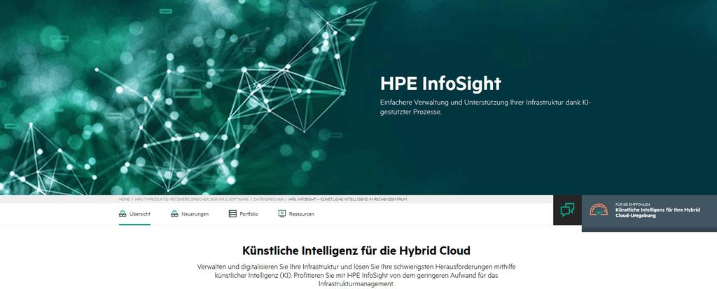 HPE Infosight
