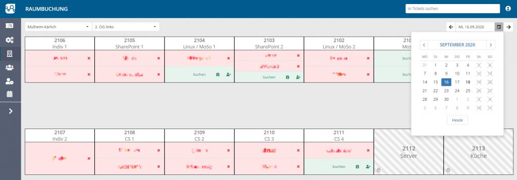 Abbildung 3: Darstellung 2. OG links, mit Datumsauswahl