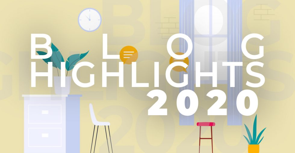 Unsere Highlights im Blog 2020 & Blogpause